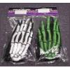 Gloves Skeleton Oversized Green